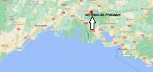 Où se situe Les Baux-de-Provence (Code postal 13520)