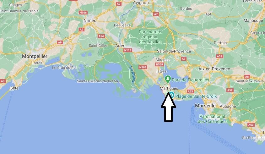 Où se situe Martigues (Code postal 13056)