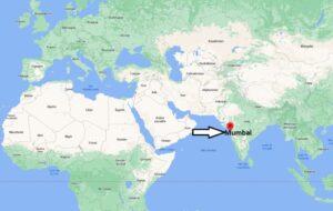 Où se situe Mumbai