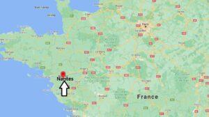 Où se situe Nantes (Code postal 44109)