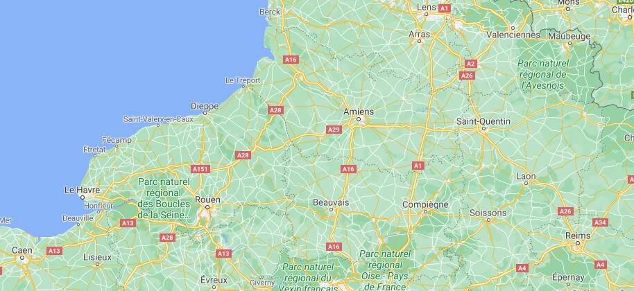 Où se situe Picardie