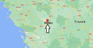 Où se situe Poitiers (Code postal 86000)