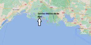 Où se situe Saintes-Maries-de-la-Mer (Code postal 13460)
