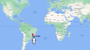 Où se situe Sao Paulo