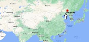 Où se situe Shenyang