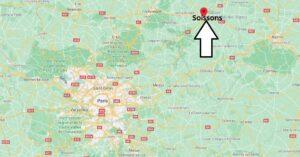 Où se situe Soissons (Code postal 02722)