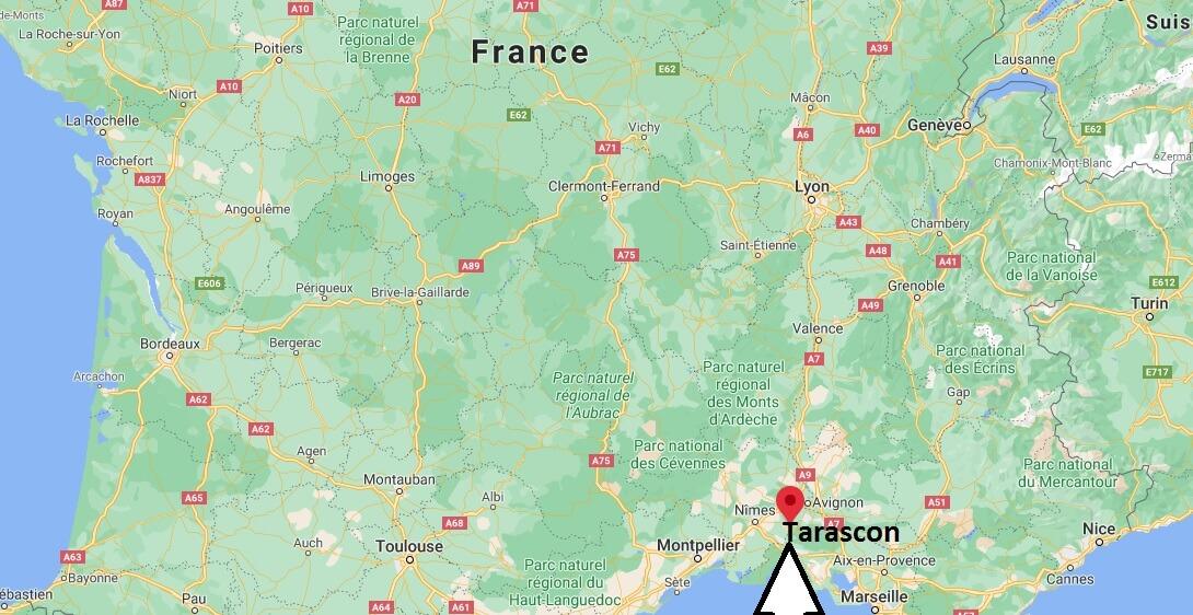 Où se situe Tarascon (Code postal 13150)