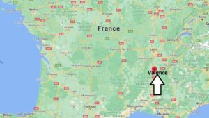 Où se situe Valence (Code postal 26000)