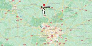 Où se situe la ville de Beauvais par rapport à Paris