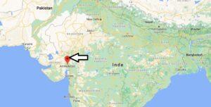 Où se trouve Ahmedabad