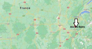 Où se trouve Aix-les-Bains