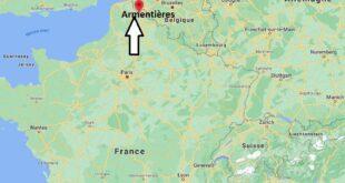 Où se trouve Armentières