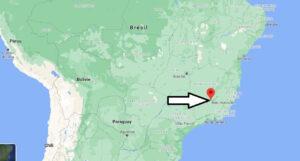 Où se trouve Belo Horizonte sur la carte du monde