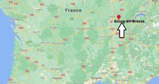 Où se trouve Bourg-en-Bresse