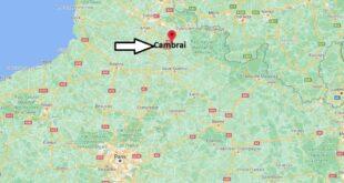 Où se trouve Cambrai