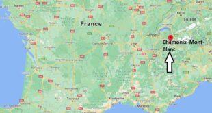 Où se trouve Chamonix–Mont-Blanc