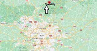 Où se trouve Chantilly