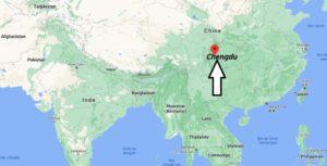 Où se trouve Chengdu en Chine