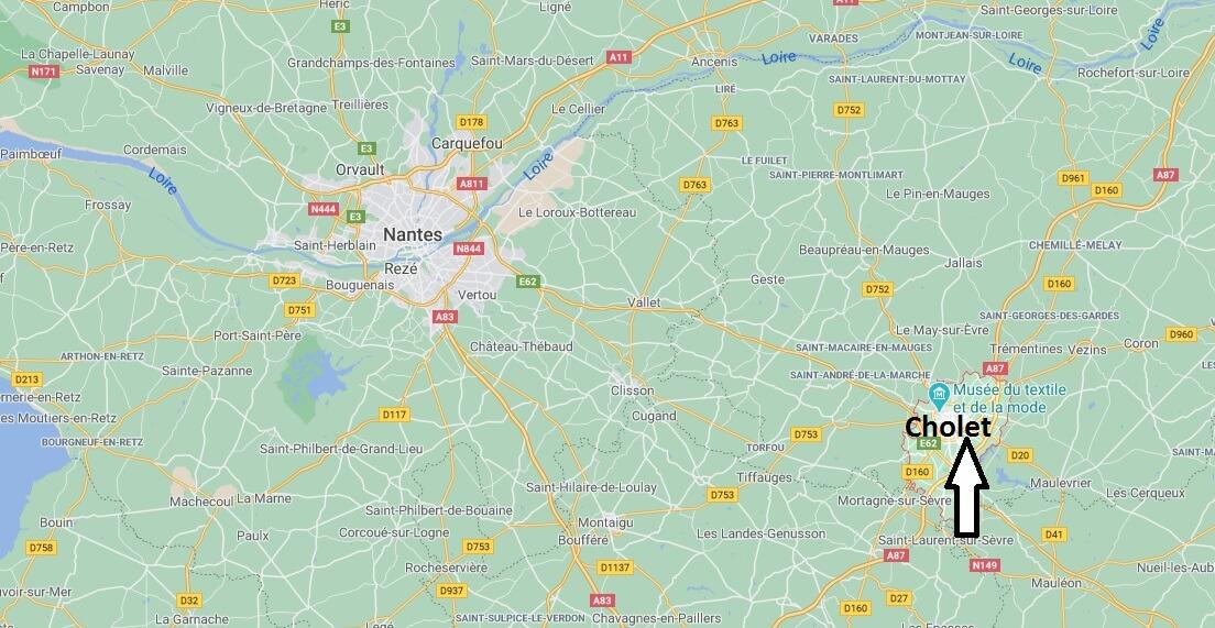 Où se trouve Cholet