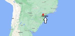 Où se trouve Curitiba