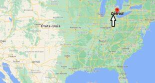 Où se trouve Detroit