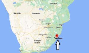 Où se trouve Durban