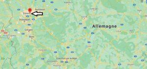 Où se trouve Essen