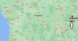 Où se trouve Évian-les-Bains