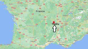 Où se trouve Firminy