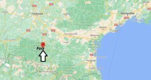 Où se trouve Foix