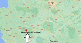 Où se trouve Fontevrault-l- Abbaye