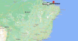 Où se trouve Fortaleza