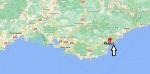 Où se trouve Fréjus
