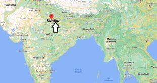Où se trouve Kanpur