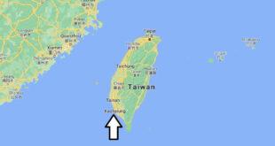 Où se trouve Kaohsiung