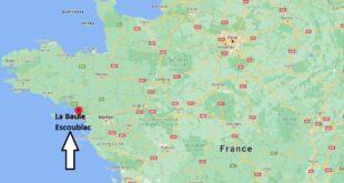 Où se trouve La Baule-Escoublac