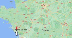 Où se trouve La Roche-sur-Yon