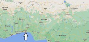 Où se trouve Lagos sur la carte du monde