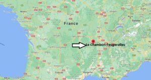 Où se trouve Le Chambon-Feugerolles