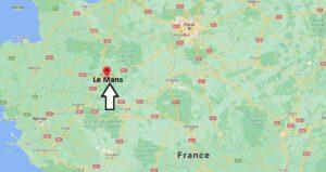 Où se trouve Le Mans