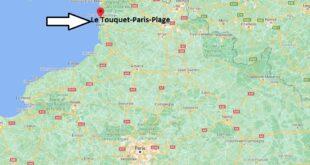 Où se trouve Le Touquet-Paris-Plage