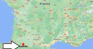 Où se trouve Lourdes