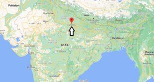 Où se trouve Lucknow