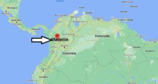 Où se trouve Medellin