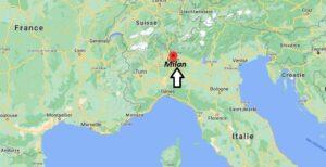 Où se trouve Milan