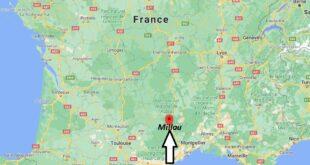 Où se trouve Millau