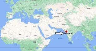 Où se trouve Mumbai