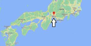 Où se trouve Nagoya sur la carte du monde