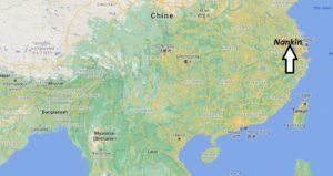 Où se trouve Nankin sur la carte du monde