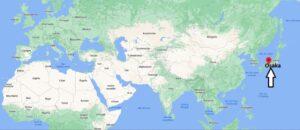 Où se trouve Osaka sur la carte du monde